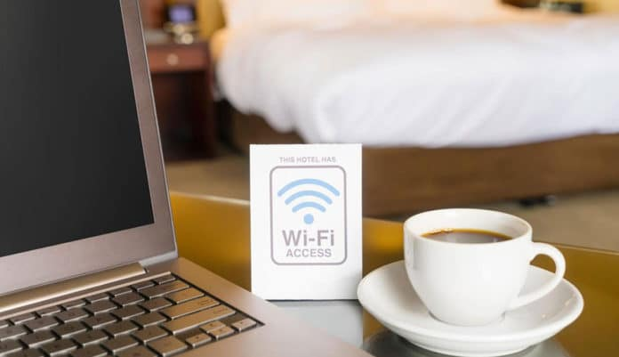 redes wifi hoteles