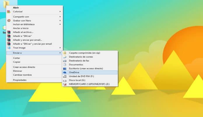 menu contextual windows informatica sevilla